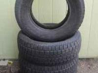 I have 4 Glacier Grip studded 265 70 17 tires. They
