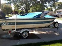 1981 sylvan 17 footer for sale with a 70 HP merc. All