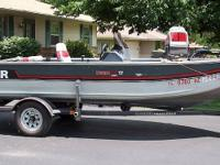 Call Boat owner Pete . Trailer.1991 Upgraded to Johnson