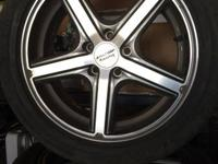 "17"" wheels and tires that came off my 2008 Chevy Malibu"