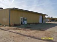 M-1 Light Industrial zoning. Metal building with office