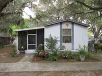 1992 Skyline two bedroom, two bath mobile home located