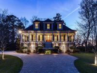 """This stunning """"tidewater"""" home overlooking the"""