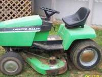 "1716 DEUTZ-ALLIS MOWER WITH 48"" MOWING DECK, 42"" FRONT"