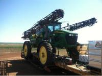 "4720 John Deere Sprayer 90' boom setup on 10"" spacing"