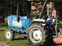 around a 30 hp power steering live lift / live pto very