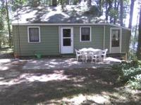 For sale is a, 1/2 acre, two bedroom, 3 season lake