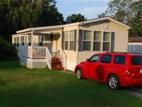 This 16x80 Marlette mobile home is already set up and