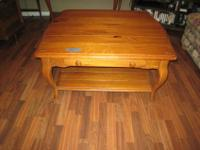Basset console table $100.00 & coffee table $75.00.