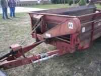 175 International Manure Spreader, 12 ft. long, Good