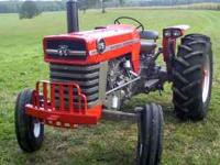 175 Massey Ferguson Diesel Power Steering This tractor