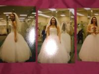 "I am selling my size 12 ""Strapless Tulle Ball Gown with"