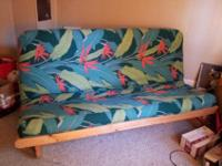 This is a full-sized futon I used to sleep on for 2
