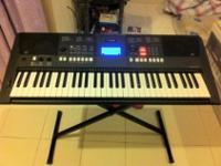 Yamaha PSRE423 61-Key Portable Keyboard - Enrich,