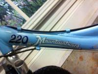 I have a Trek Mountaintrack 220 for sale. It has been