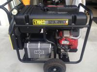 Portable generator. Model number 0045830. 17500 watts.