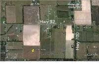 High and dry property (33+ acres) located less than 1