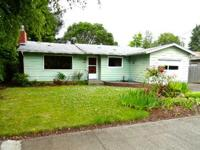 This three bedroom one bath, home located in Corvallis