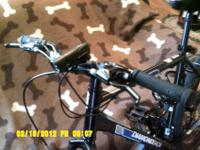 "MENS MOUNTAIN BIKE LARGE 20"" W/ SHIMANO EGUIPTED"