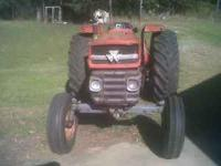 Good tractor runs good diesel eng may trade for a