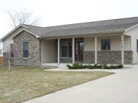 Stunning New Bangor Township home. 1622 sq. ft.