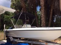 Please call owner Mark at . Boat is in North Port,