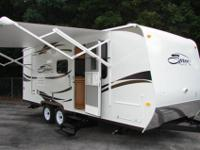Brand new 2012 with power slide out and power patio