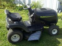 Nice looking, good cutting mower. Carbs just cleaned,