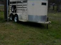 "S&H Horse Trailer with sliding and swing gate, 55"" wide"