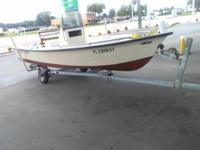 I SELLING MY KEY WEST SPORTSMAN 17 I GOT THIS BOAT TO
