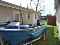17ft Campagna Skiff with 92 60hp Johnson (3 cyl) (VRO
