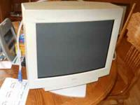 works great a 17 in. Dell Monitor .... the picture