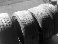I HAVE FOUR 17IN TIRES LIKE NEW CONDITION!!! I AM