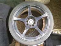 i have for sale a set of 17in wheels... unsure of the