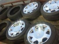 17 inch escalade wheels all in good shape tires are