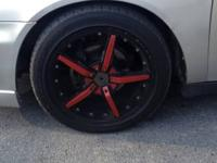 I've a four 17 inch Konig Hotswap for sale. Lug pattern