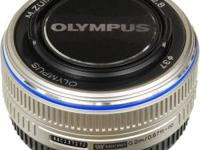17mm 2.8 olympus lens for sale. Works perfectly, but I