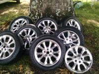 I have 8 17 inch rims with 8+ tires....a few scratches