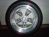 The wheels are for a small bolt pattern ( Chevrolet CAR