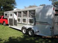 1993 Sundowner Goose Neck Aluminum Horse trailer ? with