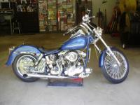 1969 FLH Harley Custom Hot Rod - Bike is rolling chrome
