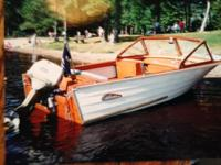 Please call owner Lawrence at . Boat is in Oconto,