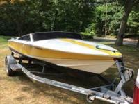 Please call owner Ryan at . Boat is in Chestnut Ridge,