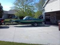 Please call boat owner Bob at . 1993 18' Bayliner open