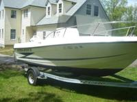 Please call owner Tucker at . Boat is in Colchester,