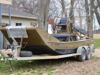Please call owner John at . Boat is in Millington,