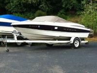 Please call Kevin at . 2000 maxum 1800sr 18ft open