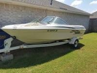 Please call owner Adam at . Boat is in Mustang,