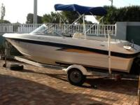 Please call owner Terry at . Boat is in Cocoa Beach,