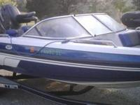 Please contact boat owner Tom at . Skeeter comes with